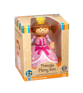 Princess Money Box - Classic Cotton