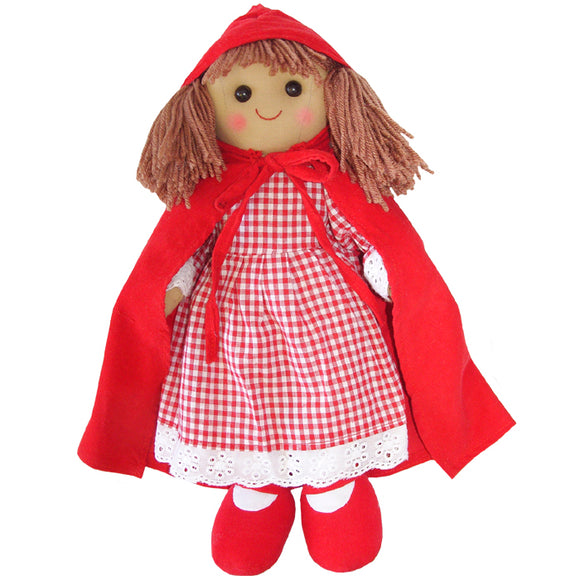 Red Riding Rag Doll