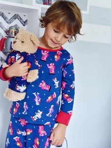 Robot - Jersey Cotton Boys Pyjamas