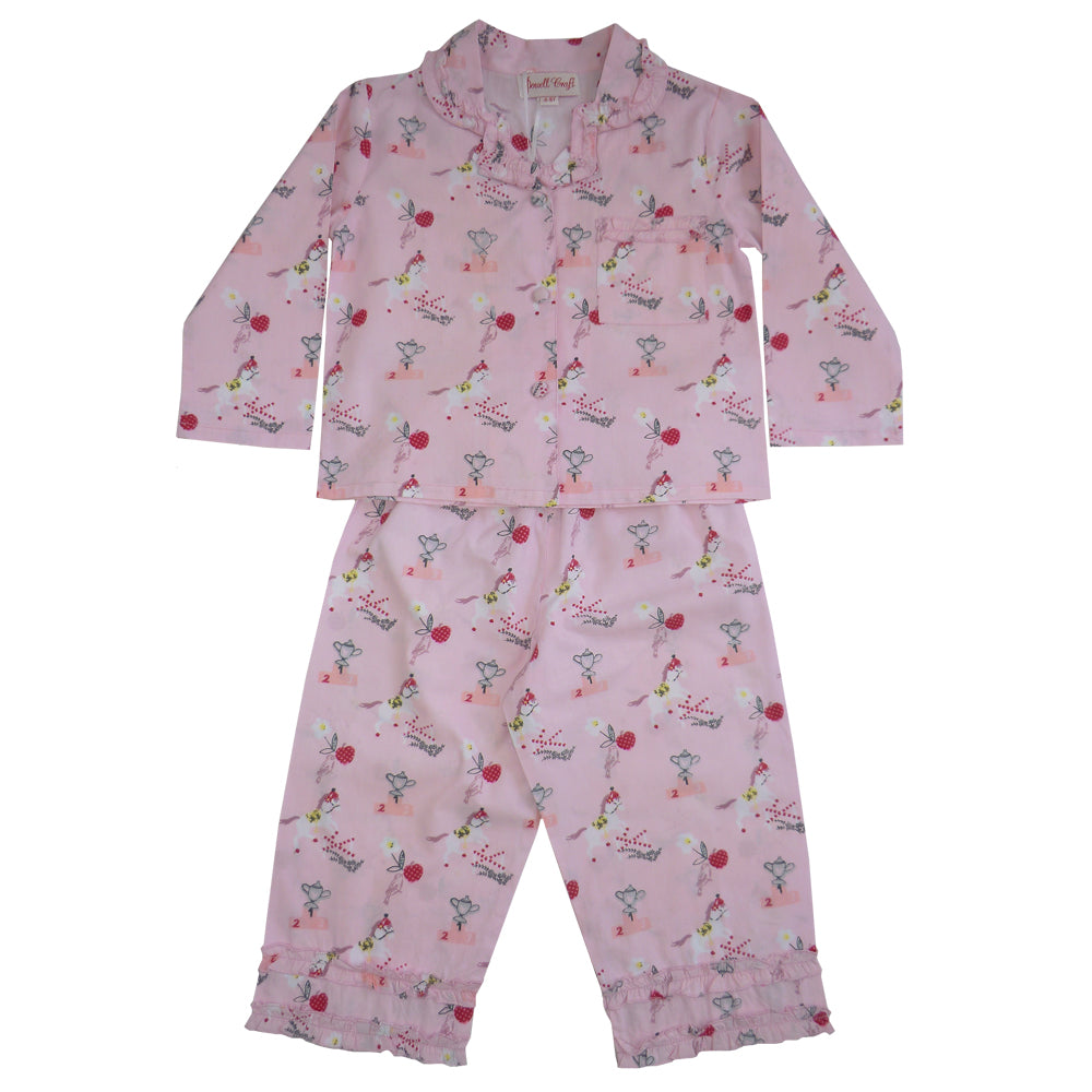 Pony Girls Pyjamas - Classic Cotton