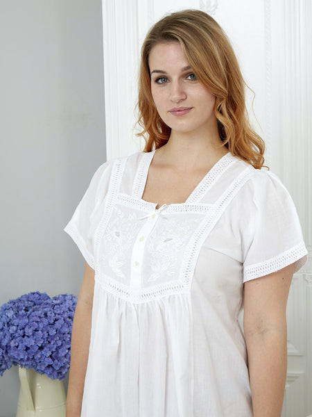 Short Sleeve Ladies Nightdress