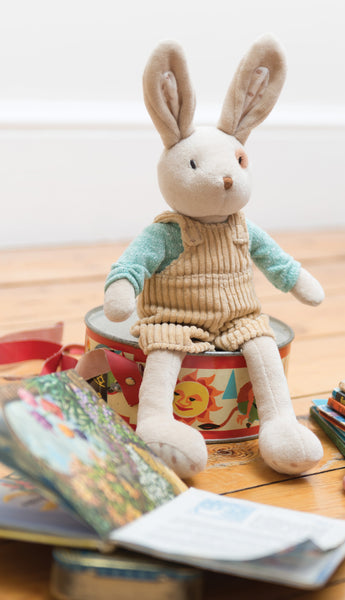 Alfie Children Soft Toy Rabbit - Classic Cotton
