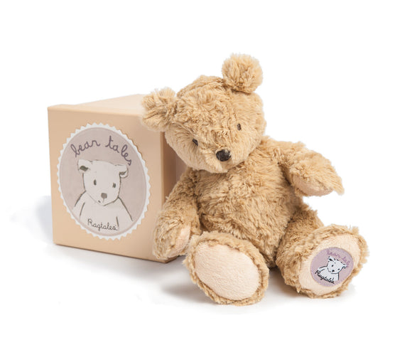 Baby Darcy Childrens Traditional Teddy Bear - Classic Cotton