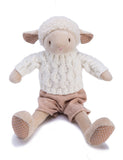 Dylan Soft Lamb- Childrens's Cuddly Toy - Classic Cotton