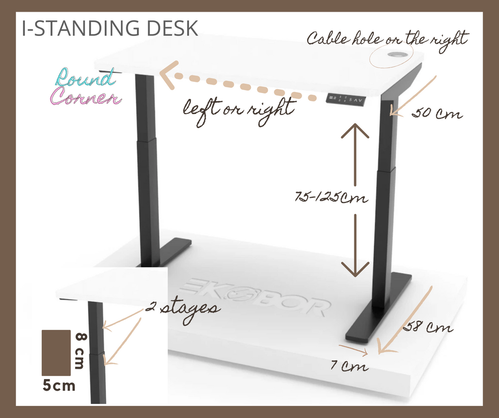 I-Standing specifications