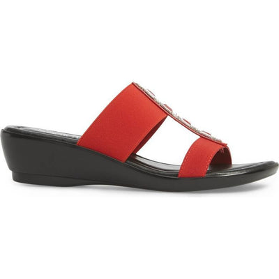 Easy Street Elba Slide Red