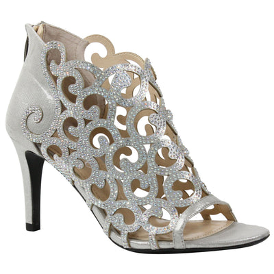 J. Renee Mcwayfalls Silver Dress Sandal