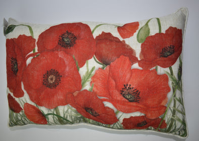 Poppy Cushion Rectangular