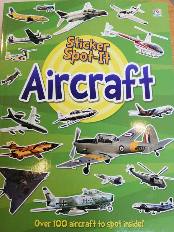 Aircraft Sticker Book