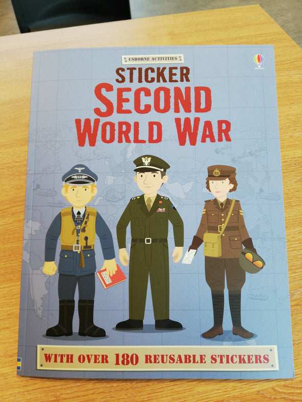 Sticker Second World War Book