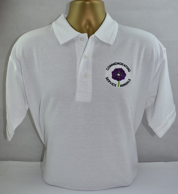 Polo Shirt Purple Poppy