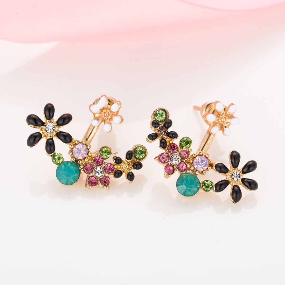 charms women sale charm flower earrings crystal je pearl trendy party earring jewelry stud product products image
