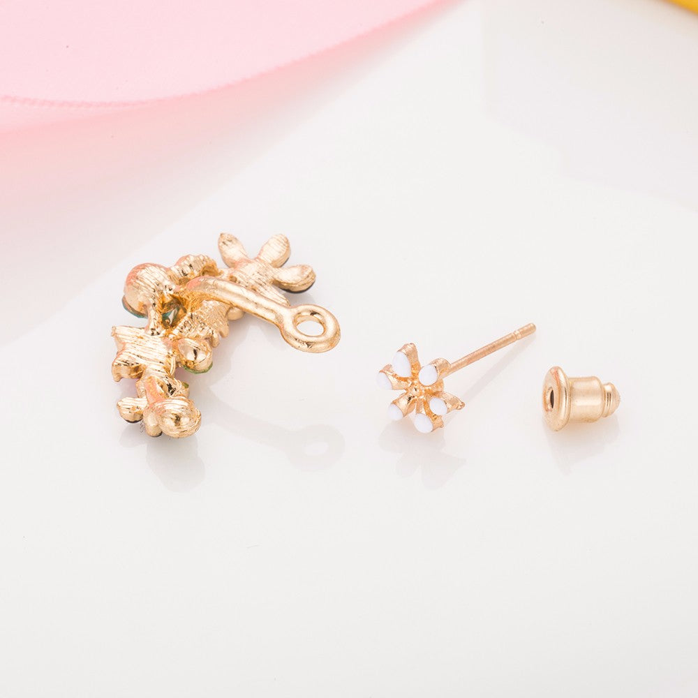 stud leaf i sale pm cuffs earrings shape trendy end ear wonderme htm
