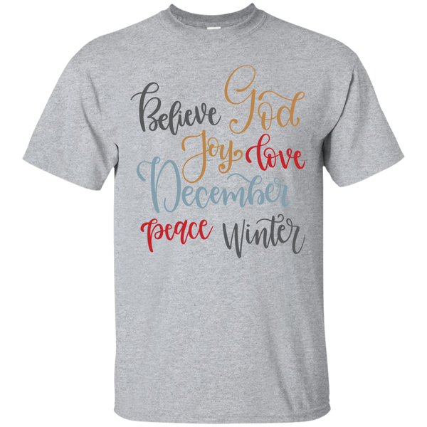 Believe God Cotton T-Shirt