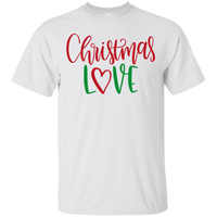 Christmas Love Cotton T-Shirt