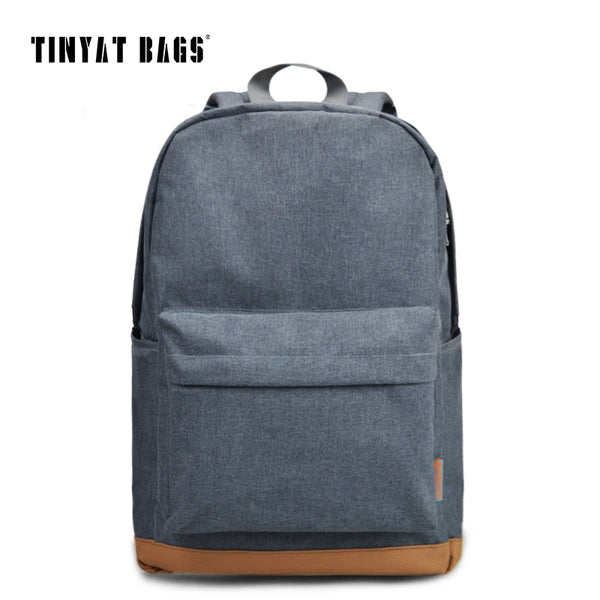 TINYAT Men's 15 inch Laptop Backpack