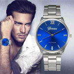 WILLIAM Casual Stainless Steel Wristwatch