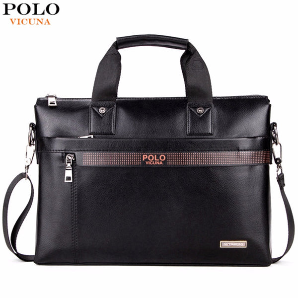 VICUNA POLO Business Men Briefcase Bag