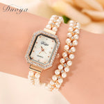 MARGARET Gold Pearl Wristwatch