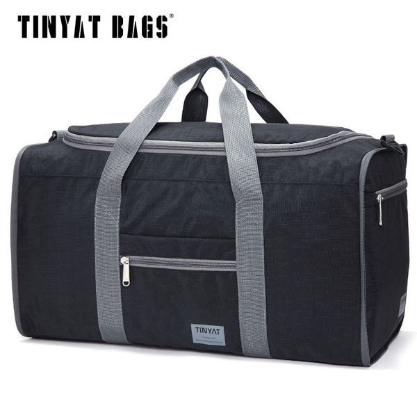 TINYAT Portable Nylon Travel Folding Bag