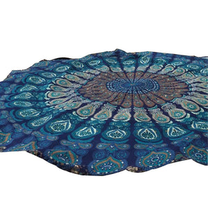 Round Beach Towel / Blanket / Table Cloth / Yoga Mat