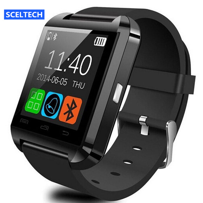 Smart Watch Clock Sync Notifier Support Bluetooth Connectivity For Android Phone