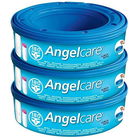 Penguin Int | Angelcare Nappy Disposal System Refill Cassettes - Pack of 3