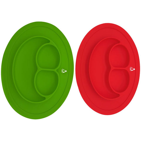 Oval Baby Feeding Silicone Sticky Placemat