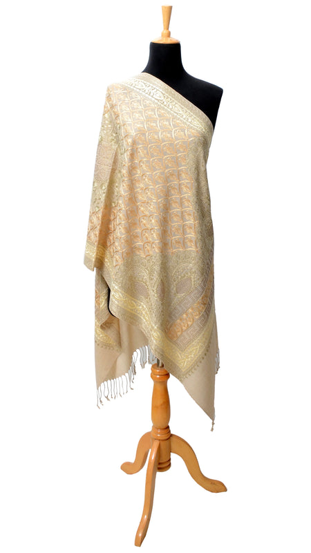 Multi Color Embroidered Shawl D1