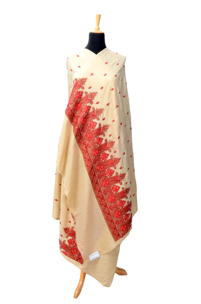 Palla Embroidered Shawl