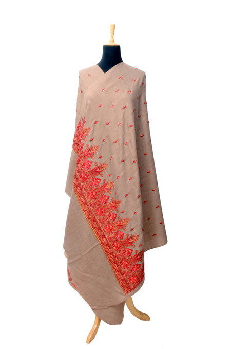 Embroidered Palla Shawl