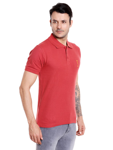 Marsala Solid Polo