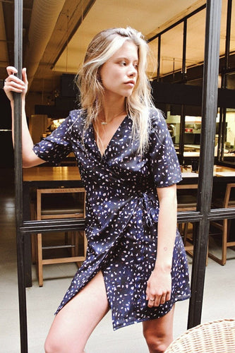 hallie wrap dress