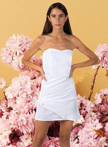 elle dress white