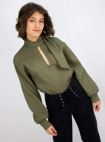 army blouse