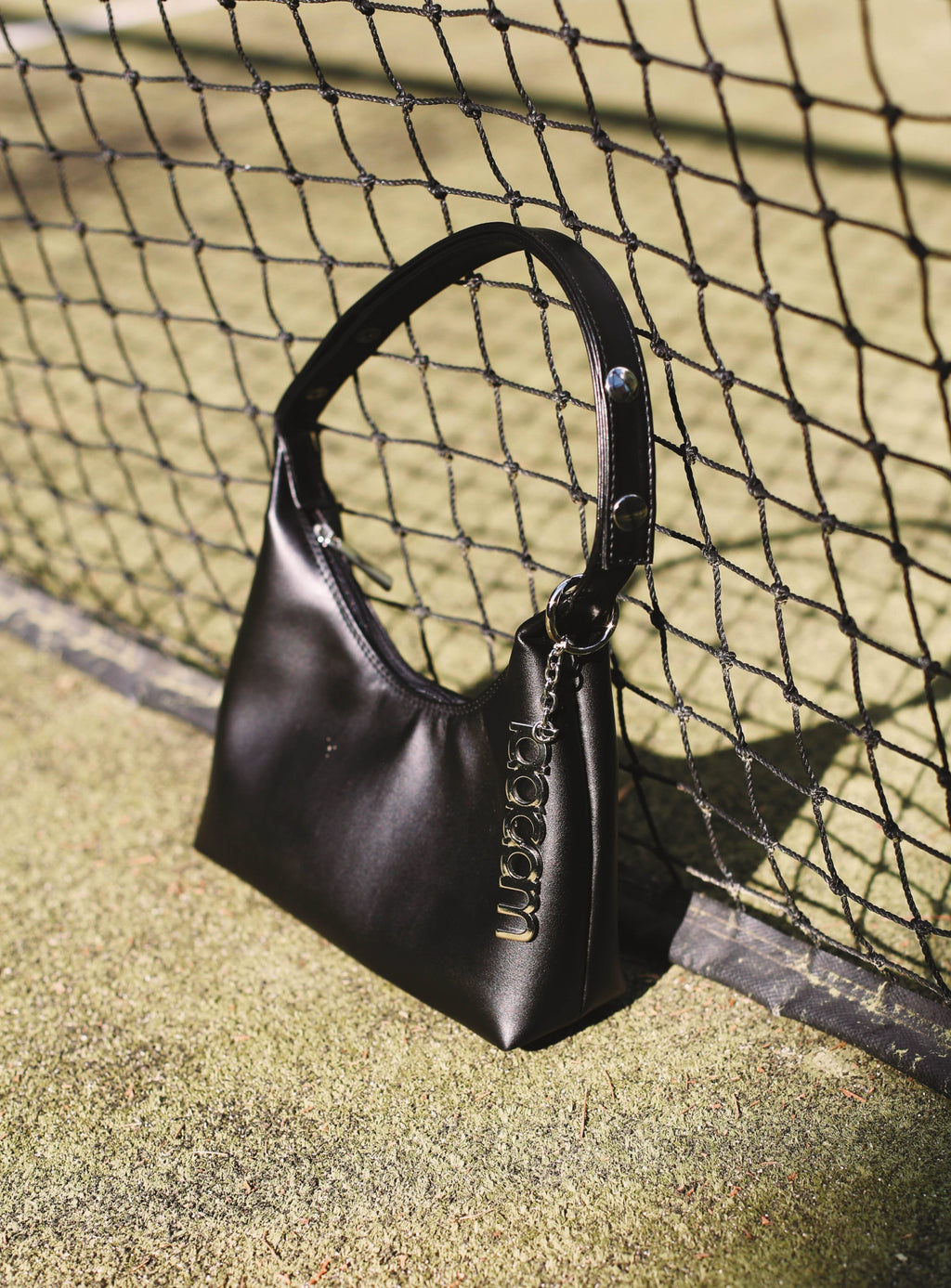 triangle bag black