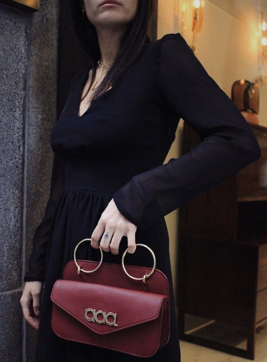 laagam bag burgundy
