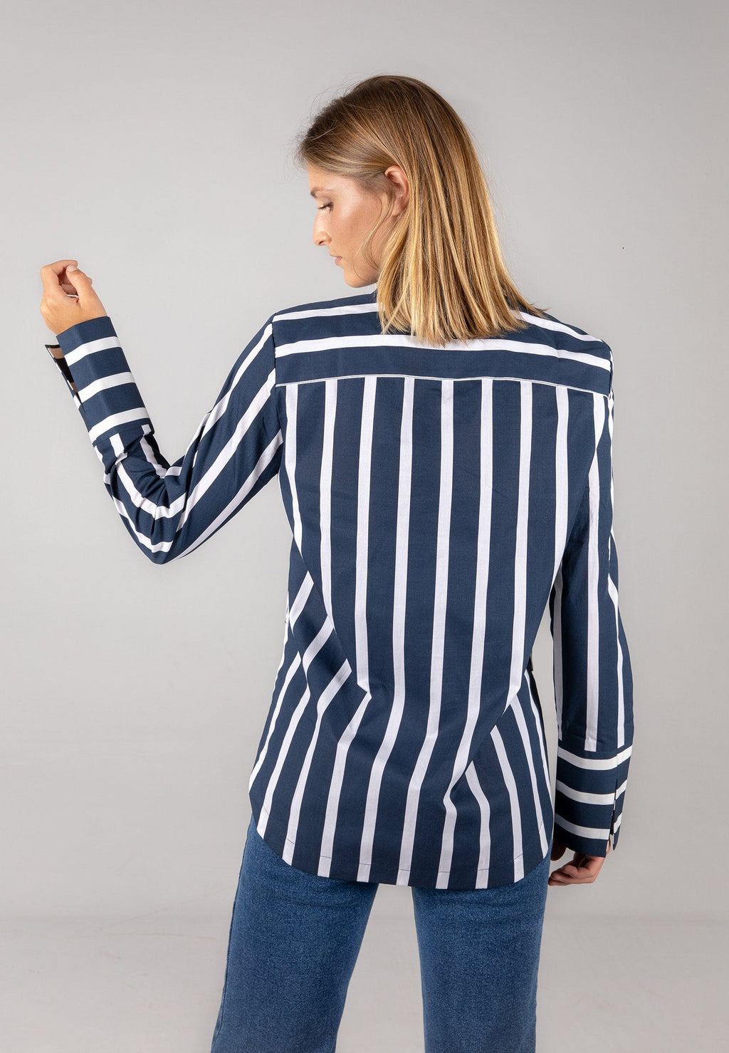 the navy stripes