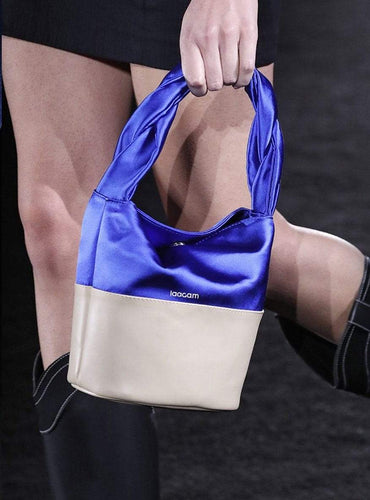satin bag klein