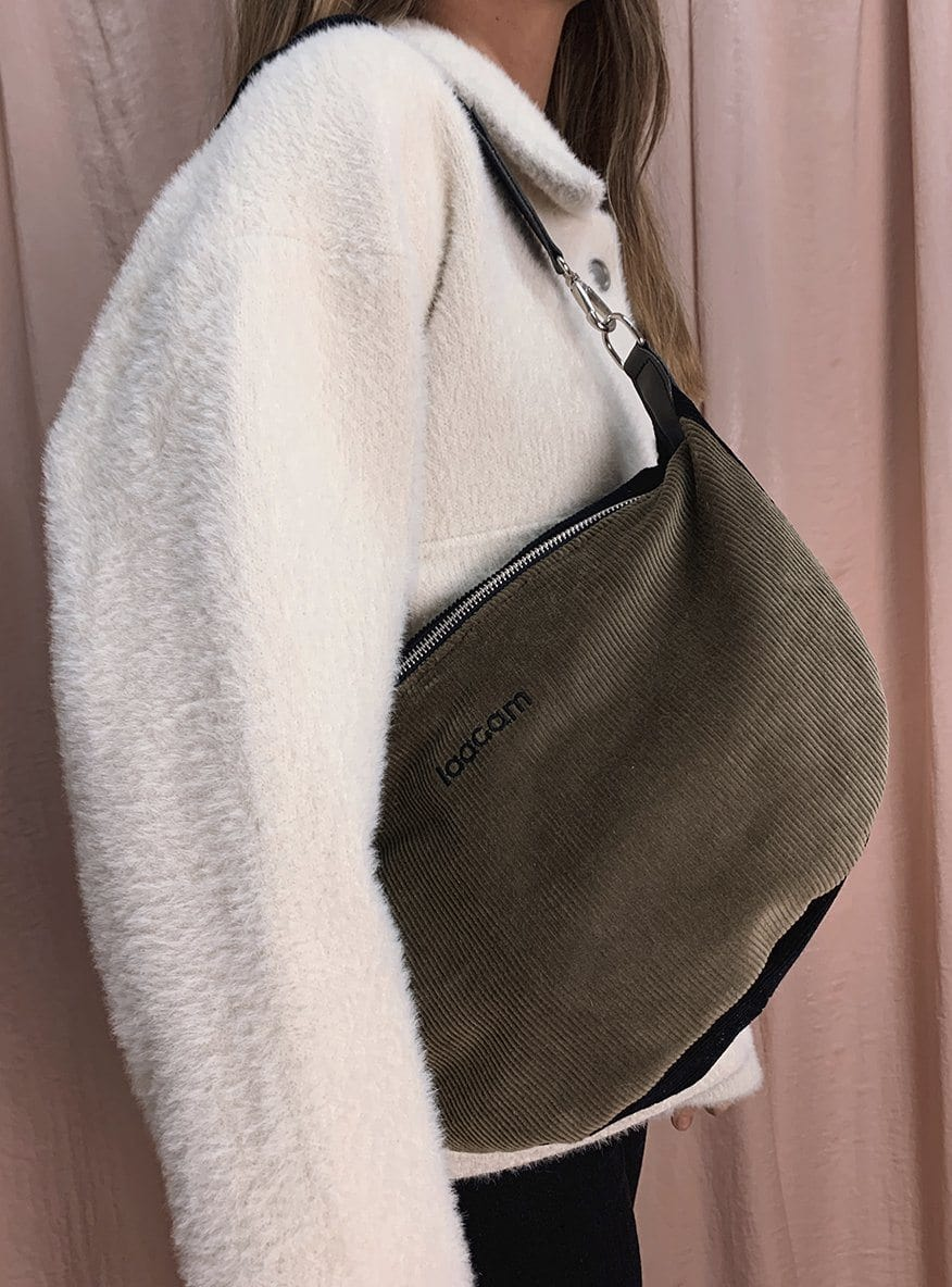 corduroy bag