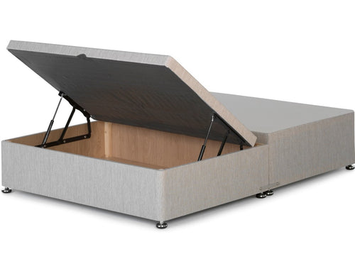 Ottoman Storage Half Opening Contract Divan Bed Base