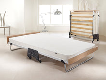 Jay-Be J-Bed Performance Contract Folding Guest Bed with Airflow Fibre Mattress