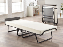 Jay-Be Visitor Contract Folding Guest Bed with Airflow Fibre Mattress