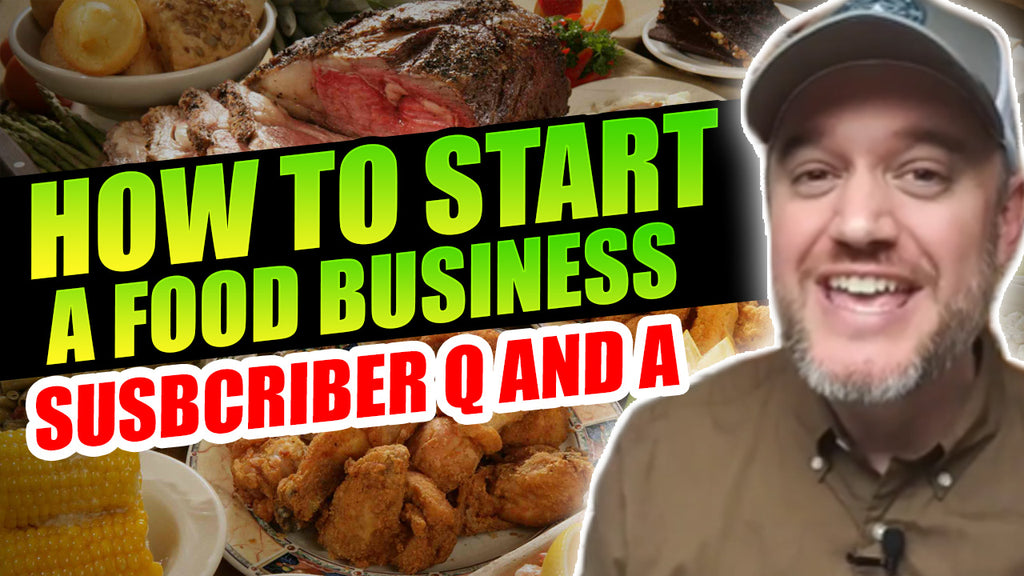 Food Business Start up Subscriber Q and A From Marketing Food Online Youtube Channel