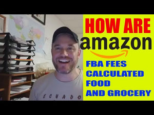 Amazon fba fees how are they calculated for Grocery and Gourmet Food Category