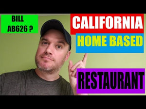 California AB626 Home based Business Food Business