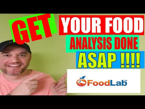 Nutritional Analysis for your food products