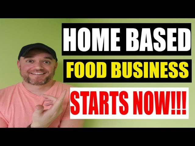 Selling food from home legally Cottage Food Law and More!