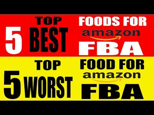 Amazon FBA Top 5 Best and Worst Food Products For Amazon FBA Program and Why