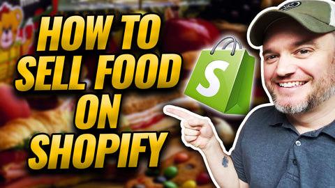 can I sell food on Shopify, Selling food on shopify, food selling websites , license to sell food online